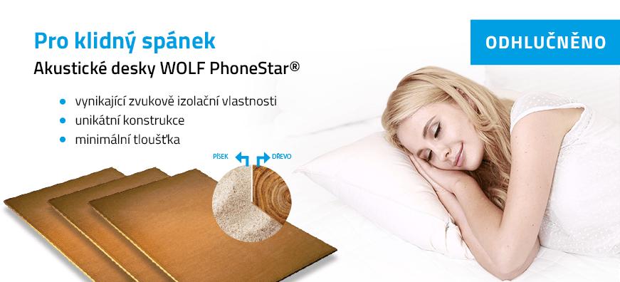 Akustické desky WOLF PhoneStar